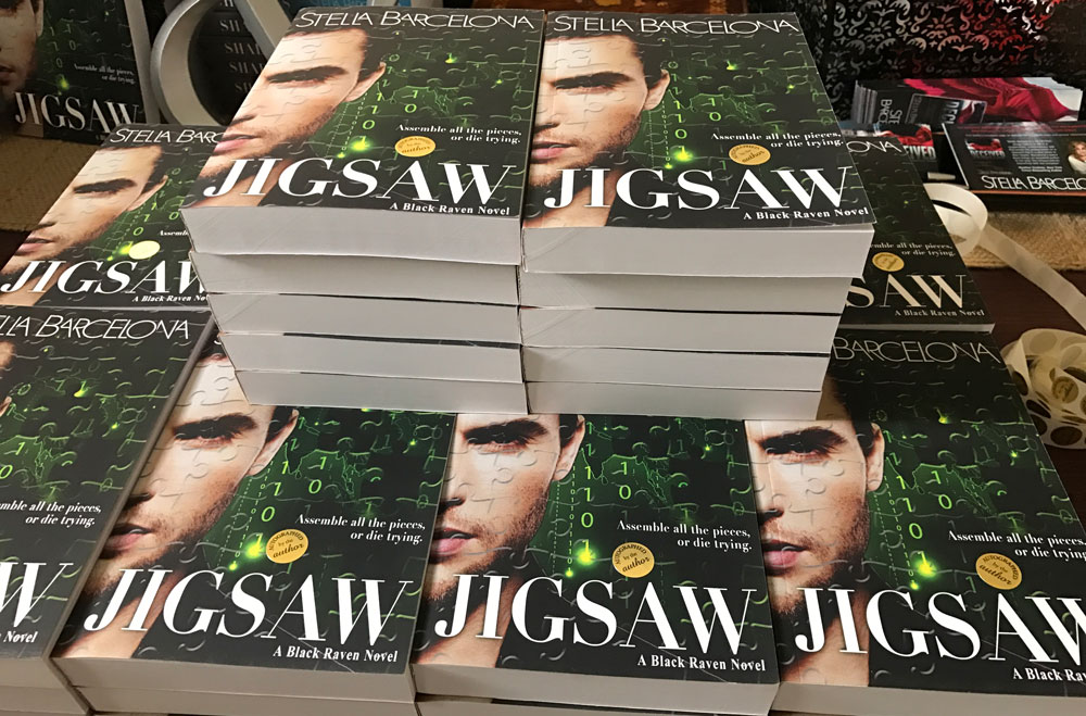 Book Signing - RT Booklovers Convention 2017 - Jigsaw Stella Barcelona